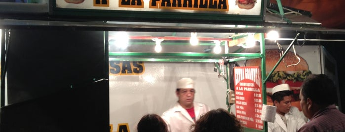 Hamburguesas a la Parrilla is one of Mexico City.