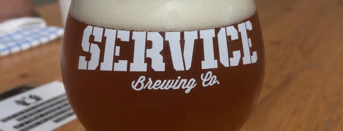 Service Brewing Co is one of Where in the World (To Drink).