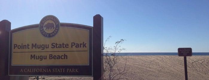 Mugu State Beach is one of Orte, die Glenda gefallen.