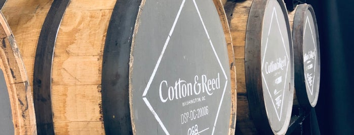 Cotton & Reed Distillery is one of DC Fancy Drinks.