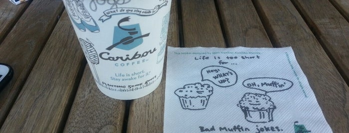 Caribou Coffee is one of Yunusさんのお気に入りスポット.