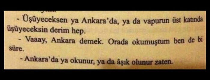 Ankara is one of my love Ankara.
