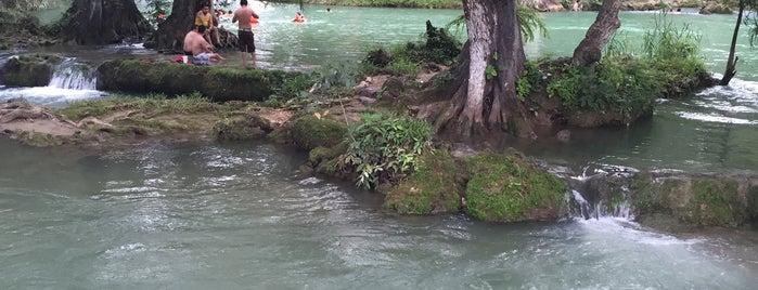 Trampolín, paraje de Agua Buena is one of Sara'nın Beğendiği Mekanlar.