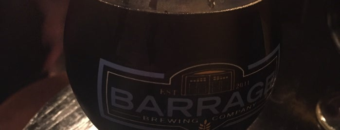 Barrage Brewing Company LLC is one of Gespeicherte Orte von Tim.