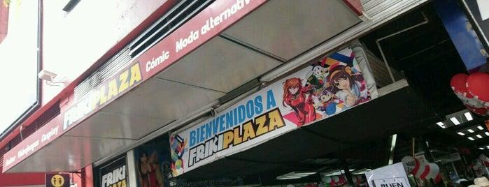 friky plaza is one of Locais curtidos por Yoshua.