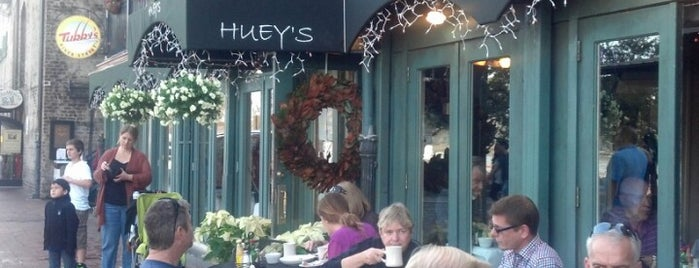 Huey's Southern Cafe is one of Restaurants in Savannah.