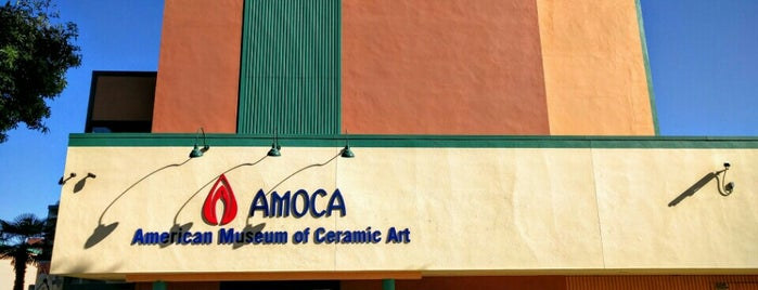 American Museum of Ceramic Art is one of so cal.