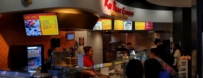 Koi Palace Express is one of Orte, die Maya gefallen.