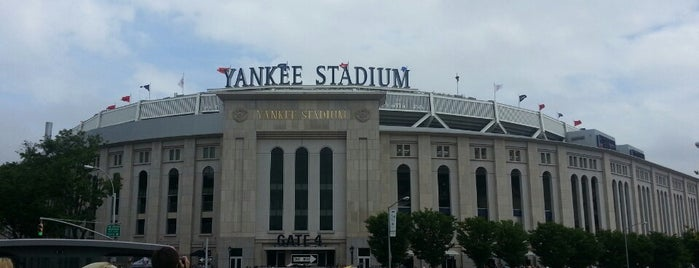 Yankee Stadium is one of NY.