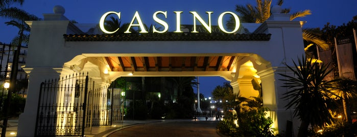 Casino Marbella is one of สถานที่ที่บันทึกไว้ของ Luke.