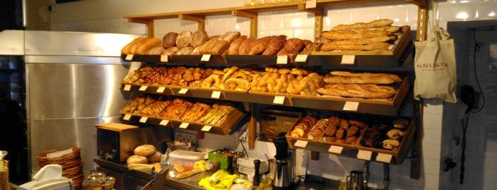 Krusta řemeslná pekárna is one of Gespeicherte Orte von ☀️ Dagger.
