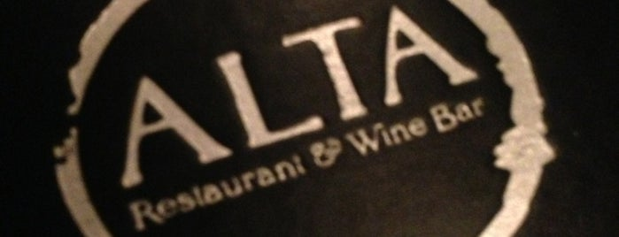 Alta Restaurant & Wine Bar is one of Gespeicherte Orte von Mary.