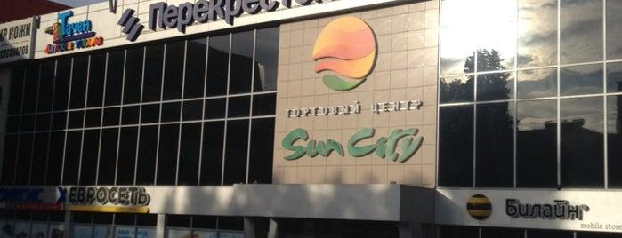 ТЦ Sun City is one of Sveta : понравившиеся места.