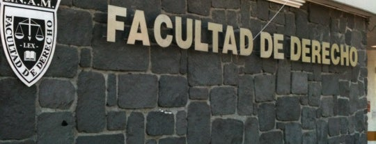 Facultad de Derecho is one of CU.