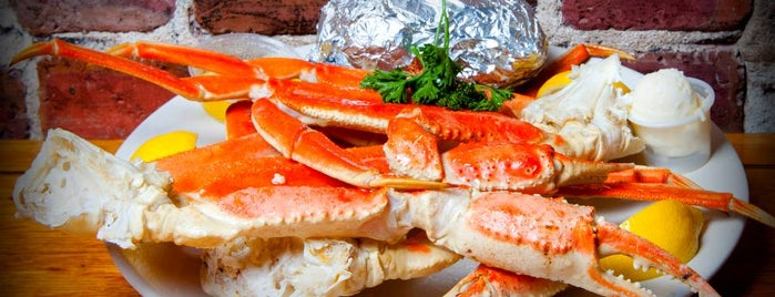Hyman's Seafood is one of 500 Things to Eat & Where - South.
