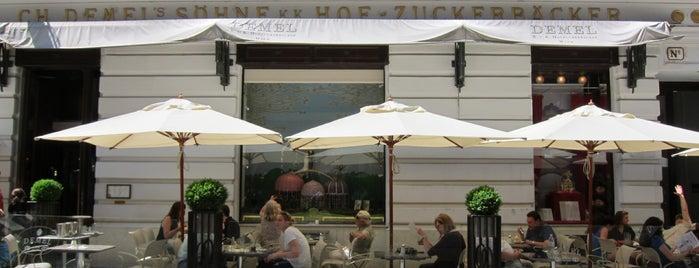 Demel – K.u.K. Hofzuckerbäcker is one of Vienna's wheelchair accessible restaurants.