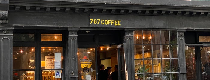 787 Coffee is one of Best Coffee: NYC.