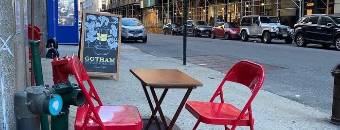 Gotham Coffee Roasters is one of New York, Restaurants III.