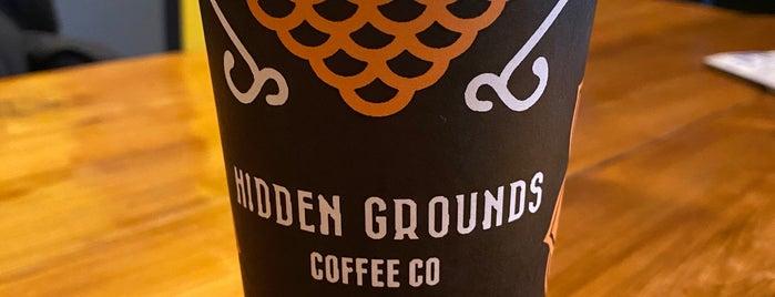Hidden Grounds Coffee is one of Lugares favoritos de Cynthia.