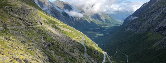 Trollstigen is one of Scandinavia.
