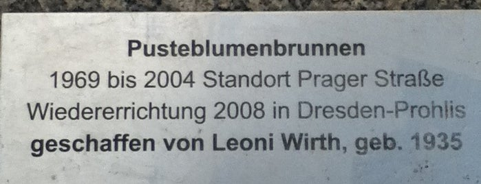 Pusteblumenbrunnen Prohlis is one of To do.