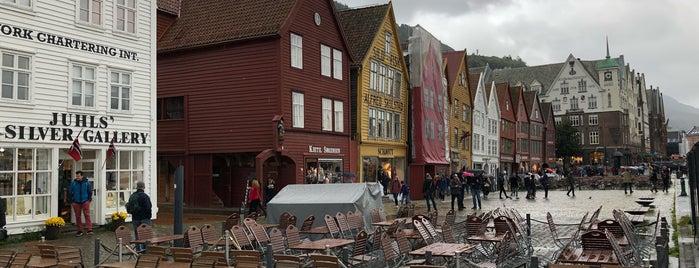 Bryggen is one of Bergening.