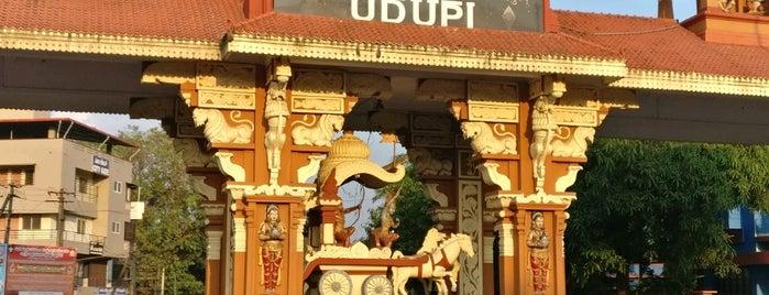 Udupi is one of Tempat yang Disukai Davide.