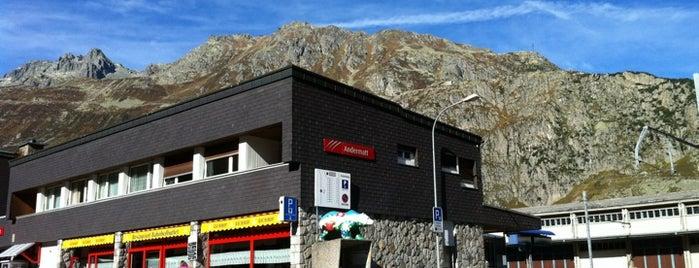 Bahnhof Andermatt is one of Euro2014.