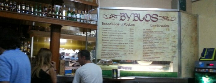 Byblos is one of list-to-eat (Madrid).