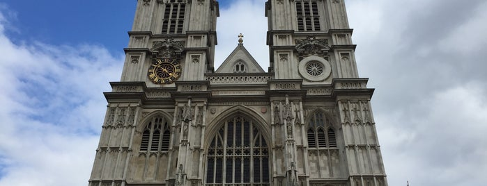 Westminster Abbey is one of London, UK.