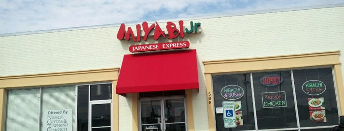 Miyabi Jr Japanese Express is one of Crispin 님이 좋아한 장소.