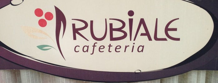 Rubiale Cafeteria is one of Café.