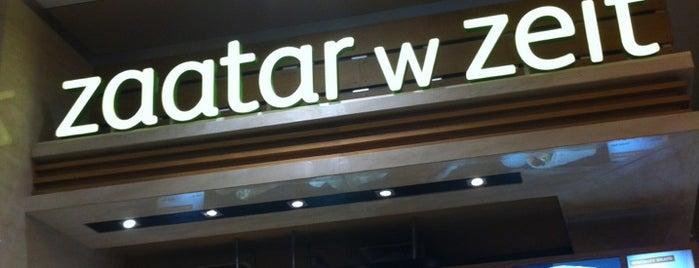 Zaatar W Zeit is one of Angela : понравившиеся места.