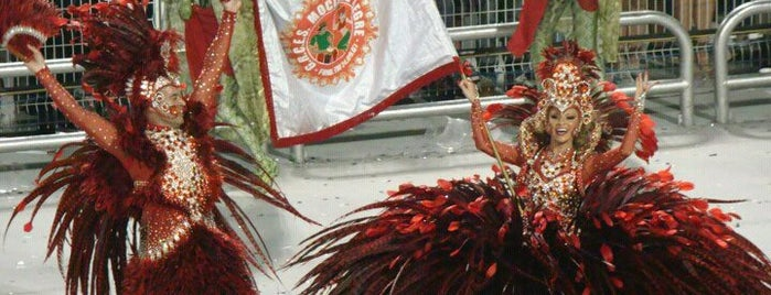 G.R.C.E.S Mocidade Alegre is one of Tempat yang Disimpan Fernandinho Good.