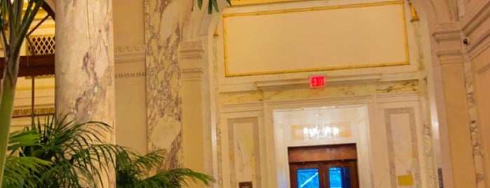 The Palm Court at The Plaza is one of USA NYC MAN Midtown West.