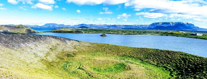 Skútustaðagígar is one of Tempat yang Disukai Erik.