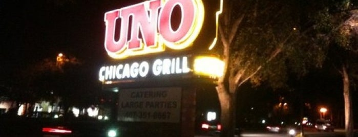 Uno Pizzeria & Grill is one of Lieux qui ont plu à David.