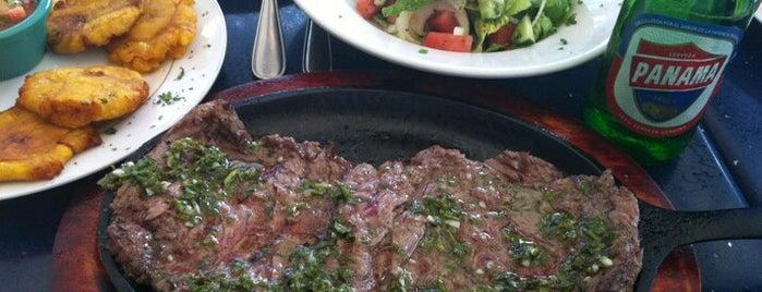 Gaucho's Steak House is one of comer en panama.