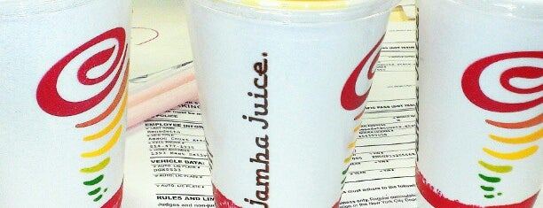 Jamba Juice is one of NYC TriBeCa.