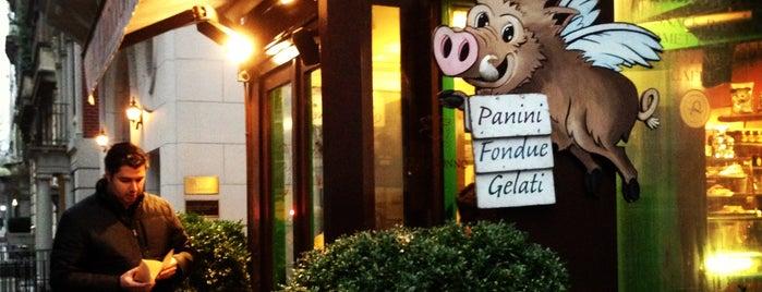 Via Quadronno Cafe is one of Orte, die Jess gefallen.
