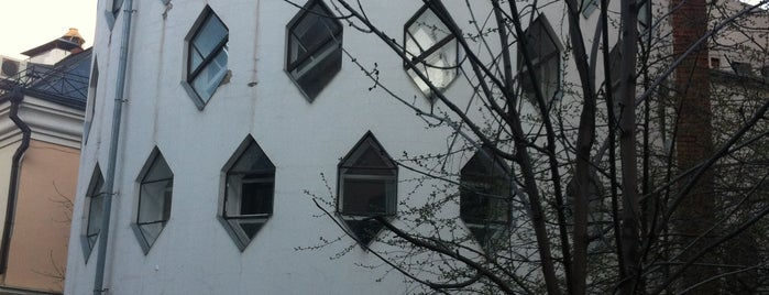 Melnikov House is one of msk.