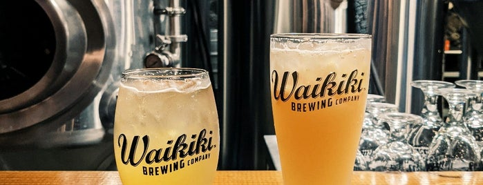 Waikīkī Brewing Company is one of DadOnTheSceneさんの保存済みスポット.