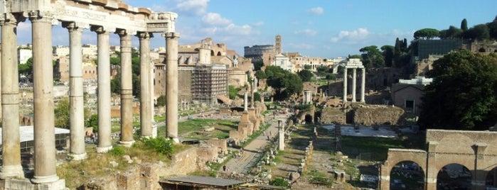 Forum Romanum is one of Roma.