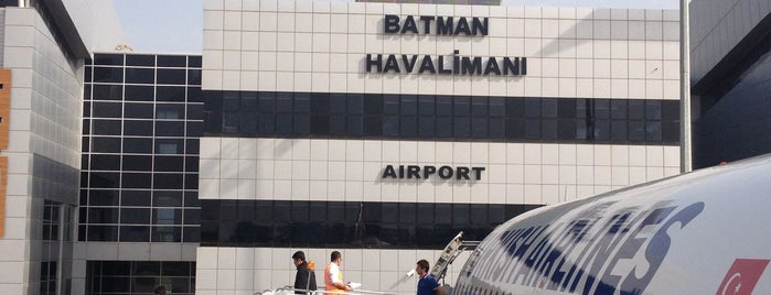 Batman Havalimanı (BAL) is one of HAVALİMANLARI /  AİRPORTS  All The World.
