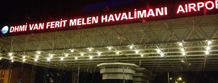 Van Ferit Melen Havalimanı (VAN) is one of Locais curtidos por Halil G..