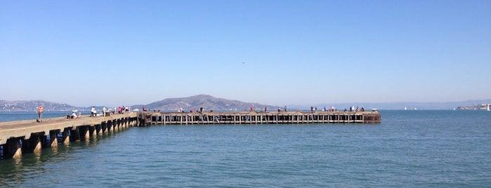 Crissy Field Fishing Pier is one of San Francisco.