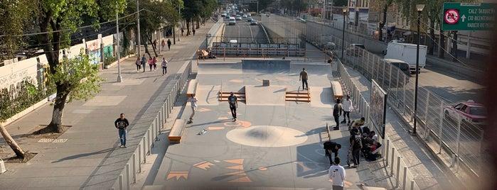 Barrio San Antonio Skatepark is one of YIDI Options.