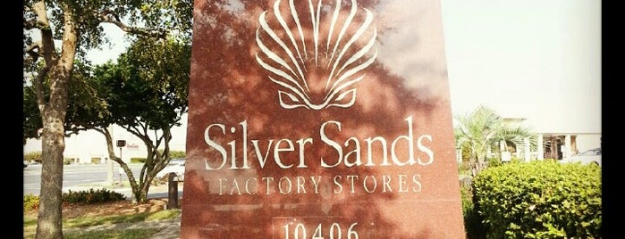 Silver Sands Premium Outlets is one of Localities.