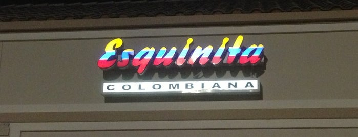 La Esquinita Colombiana is one of Venezuelan Restaurants.