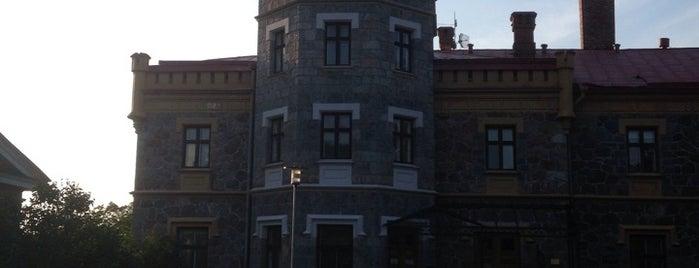Siguldas Jaunā pils is one of สถานที่ที่ Carl ถูกใจ.